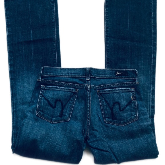Citizens Of Humanity Denim - Citizens of Humanity Kelley #001 Low Rise Boot Cut
